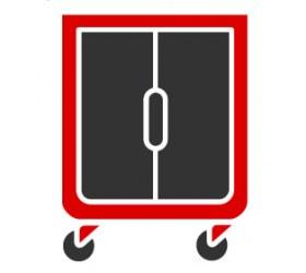Ψυγεία  Roll in Εκδηλώσεων - Τροχηλάτοι Θερμοθάλαμοι Εκδηλώσεων