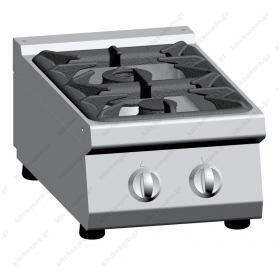 Επιτραπέζια Κουζίνα 2 Εστιών Αερίου ATA srl Ιταλίας
