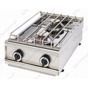 Επιτραπέζια Κουζίνα 2 Εστιών ΚΑΛΛΙΣΤΗ 2Α VRETTOS