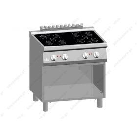 Επιδαπέδια Κεραμική Κουζίνα 4 Εστιών 80x70 εκ ATA srl Ιταλίας