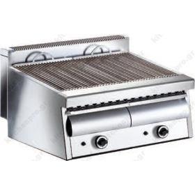 Επαγγελματικό Grill (Γκριλίερα) Αερίου Διπλό 82x69 εκ. ARTEMIS 2 VRETTOS