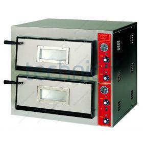Φούρνος Πίτσας Ηλεκτρικός για 8 Πίτσες 30x30 εκ GGF Ιταλίας