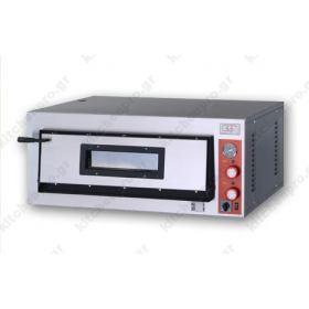 Φούρνος Πίτσας Ηλεκτρικός για 4 Πίτσες 36x36 εκ GGF Ιταλίας