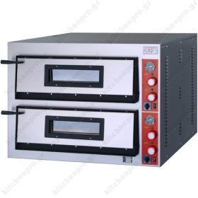 Φούρνος Πίτσας Ηλεκτρικός για 8 Πίτσες 36x36 εκ GGF Ιταλίας