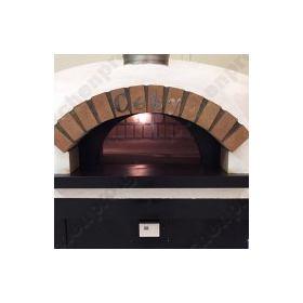 Χειροποίητος Χτιστός Φούρνος Πίτσας Αερίου & Ξύλου 8 Πίτσες 30 εκ SFERA, CEKY Ιταλίας