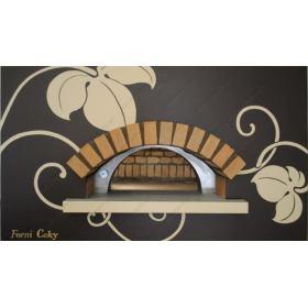 Χτιστός Φούρνος Πίτσας Ξύλου 8 Πίτσες 30 εκ. ROTONDO CEKY Ιταλίας