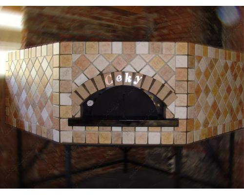 Χτιστός Φούρνος Πίτσας Ξύλου 12 Πίτσες 30 εκ. PENTAGONALE CEKY Ιταλίας