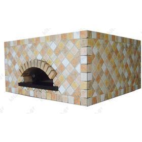 Χτιστός Φούρνος Πίτσας Ξύλου 12 Πίτσες 30 εκ. QUADRATO CEKY Ιταλίας