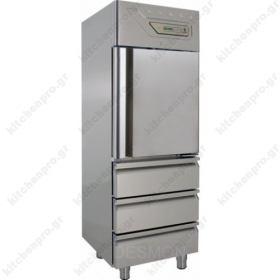 Όρθιο Ψυγείο Συντήρηση με Πόρτα & 3 Συρτάρια DESMON Ιταλίας