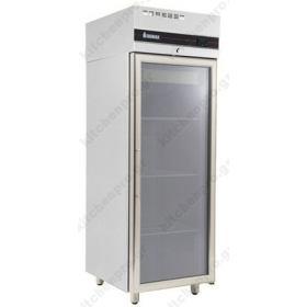 Όρθιο Ψυγείο Θάλαμος Συντήρηση με Κρυστάλλινη Πόρτα 0ºC/+10ºC INOMAK