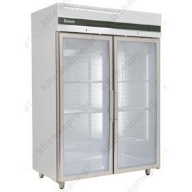 Όρθιο Ψυγείο Θάλαμος Κατάψυξη με Κρυστάλλινη Πόρτα 0ºC/ -21ºC INOMAK