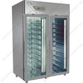 Επαγγελματικό Ψυγείο Θάλαμος Κατάψυξη Ζαχαροπλαστικής με Κρυστάλλινες Πόρτες για 40 Ταψιά 40χ60 εκ.