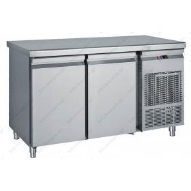 Ψυγείο Πάγκος 139χ70 εκ. Συντήρηση με 2 Πόρτες GN 1/1