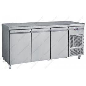 Ψυγείο Πάγκος 216χ70 εκ. Συντήρηση με 3 Πόρτες