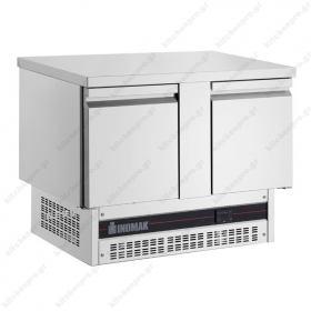 Ψυγείο Πάγκος Συντήρηση 107 χ 70 με 2 Πόρτες INOMAK
