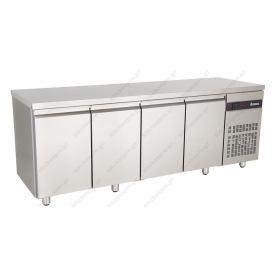 Ψυγείο Πάγκος Συντήρηση 224 χ 70 με 4 Πόρτες INOMAK