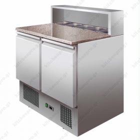 Επαγγελματικό Ψυγείο Πίτσας με Ανεξάρτητο με Ψυχόμενα Λεκανάκια 140χ70 εκ. FORCAR Ιταλίας