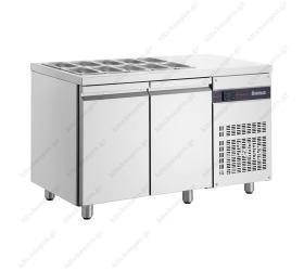 Επαγγελματικά ψυγεία σαλατών - τοστ με βιτρίνα