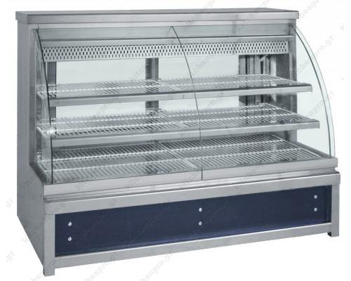 Επαγγελματικό Ψυγείο Βιτρίνα Συντήρησης Ζαχαροπλαστικής 198 x 90 εκ. ZE198 BAMBAS Ελλάδος