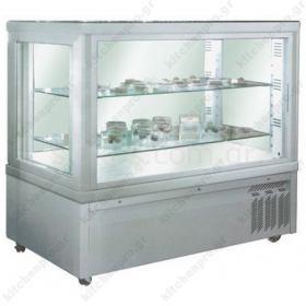 Επαγγελματικό Ψυγείο Βιτρίνα Συντήρηση Γλυκών -Ζαχαροπλαστικής 132 εκ. TEKNA Ιταλίας