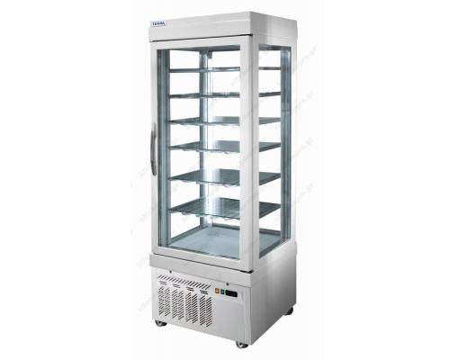 Επαγγελματικό Ψυγείο Βιτρίνα Συντήρηση Γλυκών - Ζαχαροπλαστικής 76 x 76 εκ. 5400NFP TEKNA Ιταλίας