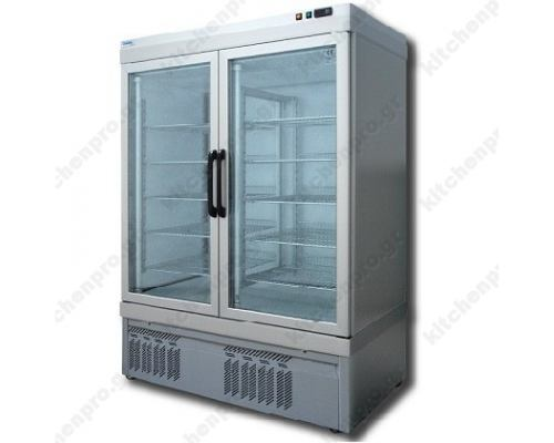 Επαγγελματικό Ψυγείο Βιτρίνα Κατάψυξη Παγωτών -Ζαχαροπλαστικής 132 x 64 εκ. 7100NFN TEKNA Ιταλίας