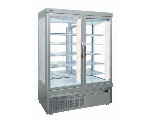 Επαγγελματικό Ψυγείο Βιτρίνα Συντήρηση Γλυκών - Ζαχαροπλαστικής 132 x 64 εκ.7400PV TEKNA Ιταλίας