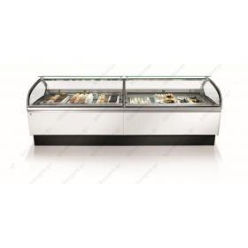 Ψυγείο Βιτρίνα Παγωτού & Γλυκού για 12 Λεκανάκια IFI Ιταλίας
