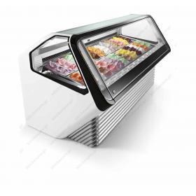 Επαγγελματικό Ψυγείο Βιτρίνα Παγωτού & Γλυκού για 12 Λεκανάκια IFI Ιταλίας