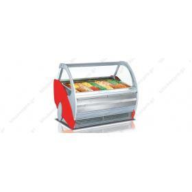 Ψυγείο Βιτρίνα Παγωτού για 12 Λεκανάκια SEVEL