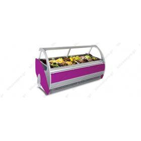 Βιτρίνα Παγωτού για 12 Λεκανάκια SEVEL, ASPEN