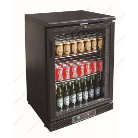 Ψυγεία Βιτρίνα Συντήρησης Μπουκαλιών 60 εκ Πλάτος x 87 εκ Υψος Back Bar TEFCOLD Δανίας DB125H
