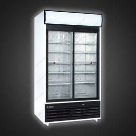 Επαγγελματικό Ψυγείο Βιτρίνα Αναψυκτικών 120 εκ Πλάτος x 201 εκ Ύψος UGUR 1200 DIKL