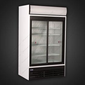 Επαγγελματικό Ψυγείο Βιτρίνα Αναψυκτικών 111 εκ Πλάτος 201 εκ Ύψος UGUR 980 DIKL