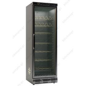 Ψυγείο Συντήρηση & Προβολής Κρασιών 382 Λίτρα KLIMASAN D372  WIC ST