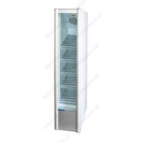 Ψυγείο Βιτρίνα Αναψυκτικών  Στενό 45 εκ Πλάτος x 202 εκ Ύψος KLIMASAN S320 SLIM