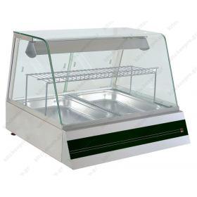 Επιτραπέζια Θερμαινόμενη Βιτρίνα 75 εκ. με Υγρασία NORTH F STAR W2