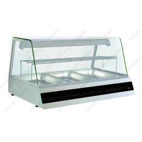 Επιτραπέζια Θερμαινόμενη Βιτρίνα 110 εκ. με Υγρασία NORTH F STAR W3