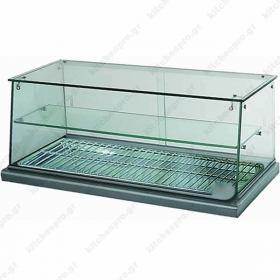 Επιτραπέζια Θερμαινόμενη Βιτρίνα - Τυροπιτιέρα 80 εκ με Αντίσταση