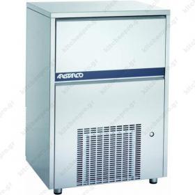 Επαγγελματική Παγομηχανή 100 Kg Συμπαγές Παγάκι 40 gr. (Σύστημα ψεκασμού)  ARISTARCO - KASTEL Ιταλίας