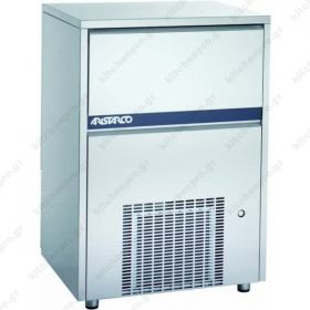 Επαγγελματική Παγομηχανή 175 Κιλών Παγάκι 18 gr (Σύστημα ψεκασμού) ARISTARCO - KASTEL Ιταλίας