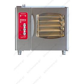 Επαγγελματικός Φούρνος Αρτοζαχαροπλαστικής Αυτοκαθαριζόμενος (5 Ταψιά 40χ60) ELOMA Γερμανίας