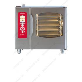 Επαγγελματικός Φούρνος Αρτοζαχαροπλαστικής Προγραμματιζόμενος - Αυτοκαθαριζόμενος (5 Ταψιά 40χ60) ELOMA Γερμανίας