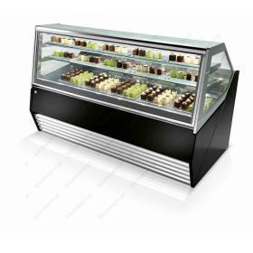 Επαγγελματικό Ψυγείο Βιτρίνα Παγωτού & Γλυκού για 18 Λεκανάκια IFI Ιταλίας