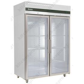 Όρθιο Ψυγείο Θάλαμος Συντήρηση με Κρυστάλλινες Πόρτες 0ºC/+10ºC INOMAK