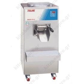Μηχανή Παραγωγής Παγωτού 60 Λίτρων TELME Ιταλίας Σειρά PRATICA