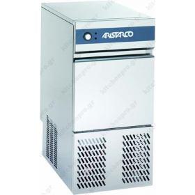 Επαγγελματική Παγομηχανή 25 Κιλών Παγάκι 17 gr. (Σύστημα Ανάδευσης) ARISTARCO - KASTEL Ιταλίας