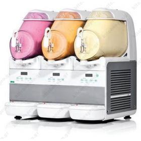 Τριπλή Μηχανή  Γιαουρτιού & Soft Παγωτού 6 Λίτρων BRAS Ιταλίας
