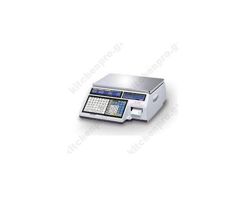 Ηλεκτρικός Ζυγός Ετικέτας & Χαρτοταινίας CAS CL5500-30-B CAS Νοτίου Kορέας