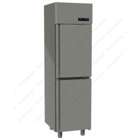 Όρθιο Ψυγείο Συντήρηση με 2 Πόρτες Slim Line -2°C/+5°C GINOX